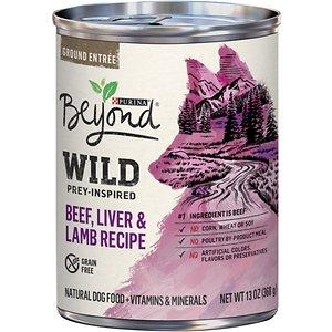 Purina Beyond Wild Prey-Inspired Grain-Free High Protein Beef