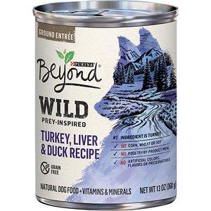 Purina Beyond Wild Prey-Inspired Grain-Free High Protein Turkey
