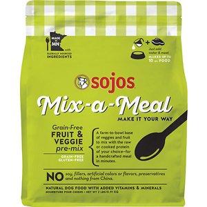 Sojos Mix-A-Meal Fruit & Veggie Pre-Mix Grain-Free Dog Food