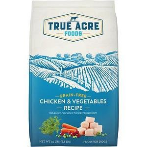 True Acre Foods Grain-Free Chicken & Vegetable Dry Dog Food