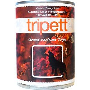 PetKind Tripett Green Venison Tripe Grain- Free Canned Dog Food
