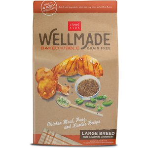 Cloud Star WellMade Baked Large Breed Grain-Free Chicken Meal