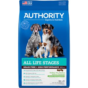 Authority High Performance Grain-Free Turkey