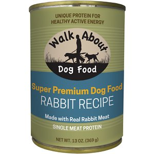 Walk About Rabbit Recipe Grain-Free Wet Dog Food