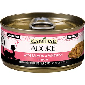 CANIDAE Adore Grain-Free Salmon & Whitefish in Broth Canned Cat Food