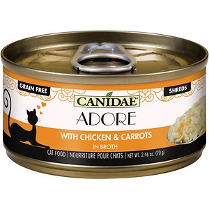 CANIDAE Adore Grain-Free Chicken & Carrots in Broth Canned Cat Food