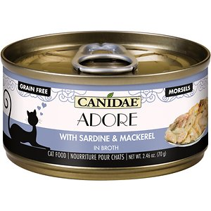 CANIDAE Adore Grain-Free Sardine & Mackerel in Broth Canned Cat Food