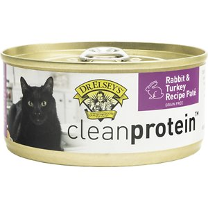 Dr. Elsey's cleanprotein Rabbit & Turkey Recipe Grain-Free Canned Cat Food