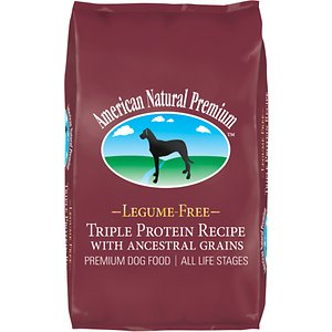 American Natural Premium Triple Protein Recipe with Ancestral Grains Legume-Free Premium Dry Dog Food