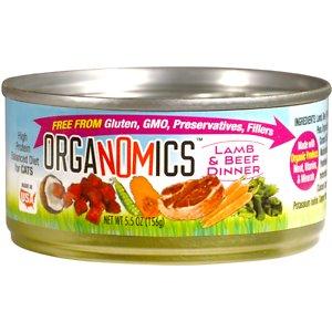 OrgaNOMics Lamb & Beef Dinner  Grain-Free Pate Wet Cat Food