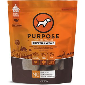 Purpose Chicken & Veggie Grain-Free Freeze-Dried Dog Food