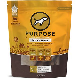 Purpose Duck & Veggie Grain-Free Freeze-Dried Dog Food