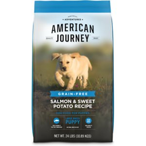 American Journey Salmon & Sweet Potato Recipe Grain-Free Large Breed Puppy Dry Dog Food