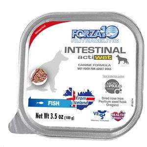 Forza10 Nutraceutic Actiwet Intestinal Support Icelandic Fish Recipe Wet Dog Food