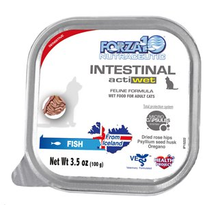 Forza10 Nutraceutic Actiwet Intestinal Support Icelandic Fish Recipe Wet Cat Food