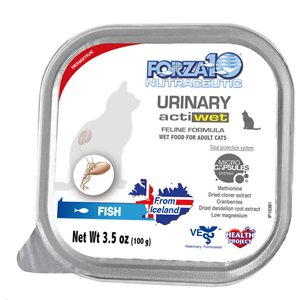Forza10 Nutraceutic Actiwet Urinary Support Icelandic Fish Recipe Wet Cat Food