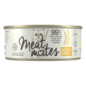 Meat Mates Chicken Dinner Grain-Free Canned Wet Cat Food