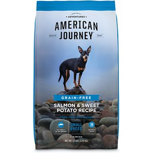 American Journey Small Breed Salmon & Sweet Potato Recipe Grain-Free Adult Dry Dog Food