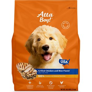 Atta Boy Grilled Chicken & Rice Flavor Dry Dog Food