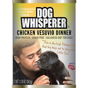 Dog Whisperer Chicken Vesuvio Dinner Canned Dog Food