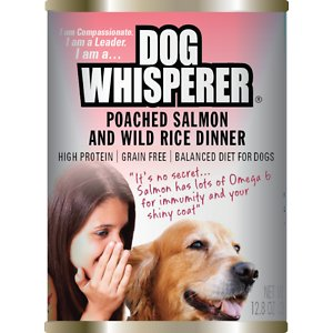 Dog Whisperer Poached Salmon & Wild Rice Dinner Canned Dog Food