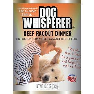 Dog Whisperer Beef Ragout Dinner Canned Dog Food