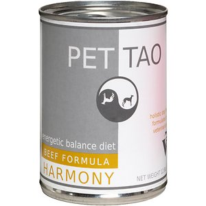PET TAO Harmony Diets Beef Formula Canned Dog Food