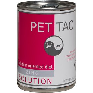 PET TAO Solution Diets Zing Canned Dog Food
