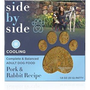 Side By Side Harvest Complete & Balanced Pork & Rabbit Recipe Freeze-Dried Adult Dog Food