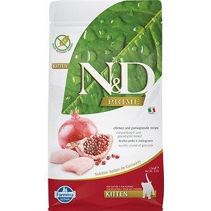 Farmina N&D Prime Chicken & Pomegranate Recipe Kitten Dry Food