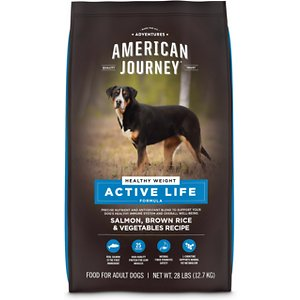 American Journey Active Life Formula Healthy Weight Salmon