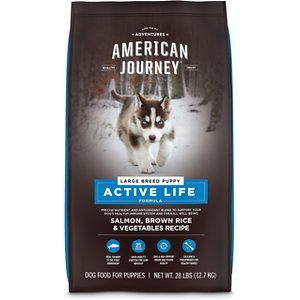American Journey Active Life FormulaLarge Breed Puppy Salmon