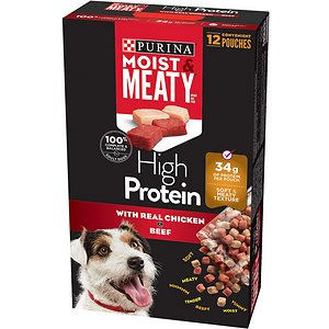 Moist & Meaty High Protein With Real Chicken & Beef Dry Dog Food