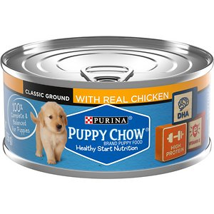 Puppy Chow Classic Ground Chicken Pate Wet Puppy Food