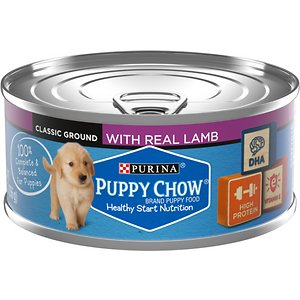 Puppy Chow Classic Ground Lamb Pate Wet Puppy Food