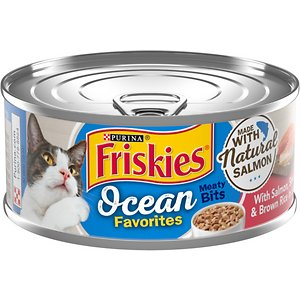 Friskies Ocean Favorites Meaty Bits Salmon