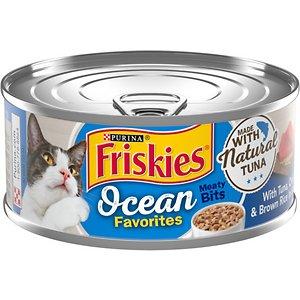 Friskies Ocean Favorites Meaty Bits Tuna