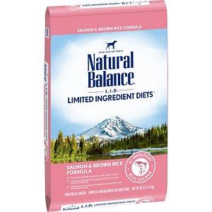 Natural Balance L.I.D. Limited Ingredient Diets Salmon & Brown Rice Formula Dry Dog Food