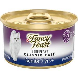 Fancy Feast Beef Feast Classic Pate Senior 7+ Canned Cat Food