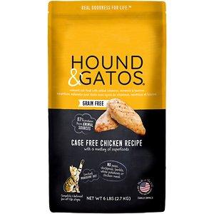 Hound & Gatos Grain-Free Cage Free Chicken Recipe Dry Cat Food
