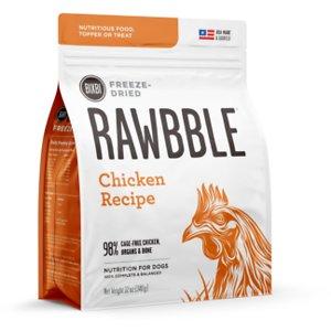 BIXBI Rawbble Chicken Recipe Grain-Free Freeze-Dried Dog Food