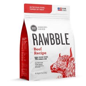 BIXBI Rawbble Beef Recipe Grain-Free Freeze-Dried Dog Food