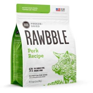 BIXBI Rawbble Pork Recipe Grain-Free Freeze-Dried Dog Food