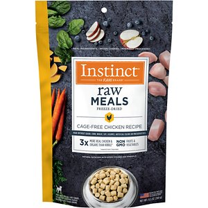 Instinct Freeze-Dried Raw Meals Cage-Free Chicken Recipe Grain-Free Dog Food