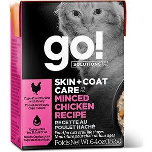 Go! SKIN + COAT CARE Minced Chicken Cat Food