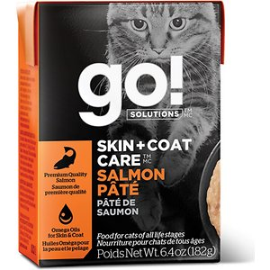 Go! SKIN + COAT CARE Salmon Pate Cat Food