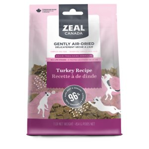 Zeal Canada Gently Turkey Recipe Grain-Free Air-Dried Dog Food