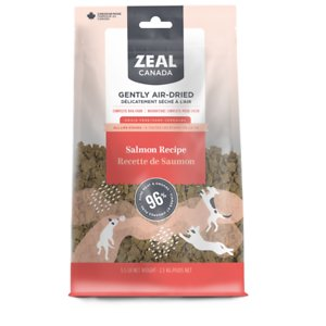 Zeal Canada Gently Salmon Recipe Grain-Free Air-Dried Dog Food