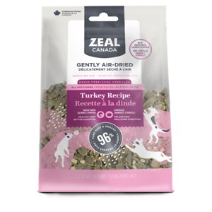 Zeal Canada Gently Turkey Recipe & Freeze-Dried Salmon & Pumpkin Grain-Free Air-Dried Dog Food