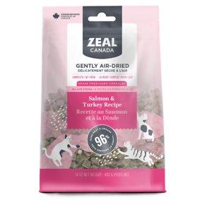 Zeal Canada Salmon & Turkey Recipe Grain-Free Gently Air-Dried Cat Food